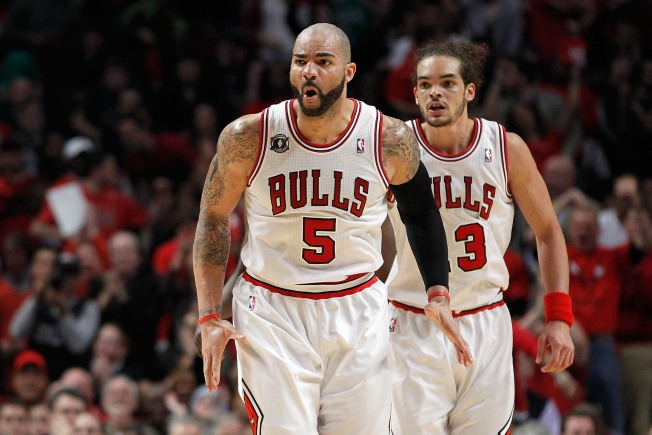 Boozer Leads Bulls in Rout of Grizzlies