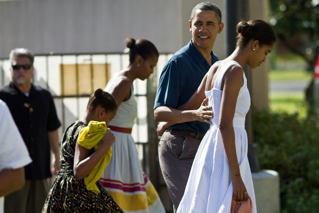 "Obamas Have Sights Set on Beachfront ""Magnum, P.I."" Mansion: Report"
