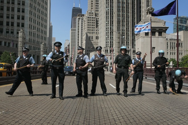 Cops' Summer Strategy: Treat Teens Like NATO Protesters