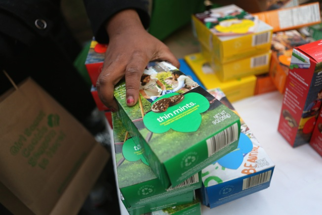 4 Suburban Girl Scouts Unload More Than $40K Worth of Cookies