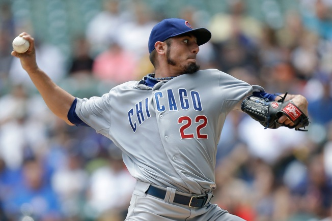 Cubs Send Garza to Rangers for 5 Players