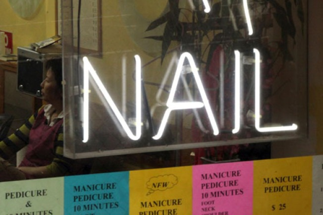 Fake Fingernail Factory Goes Up In Flames