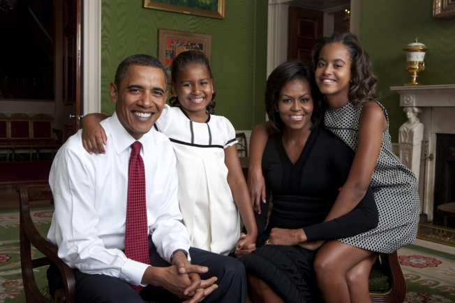 New Obama Family Portrait, Via Annie Leibovitz