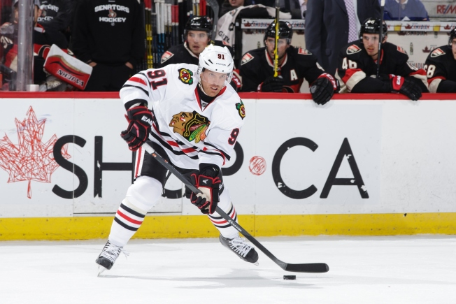 Richards Ruled Out for Rest of Regular Season by Blackhawks