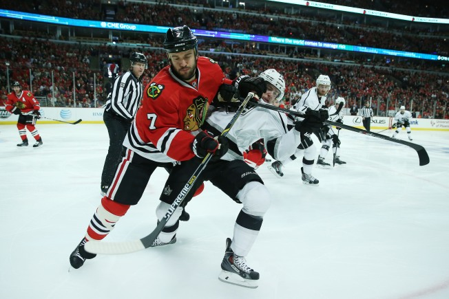 Seabrook, Crawford Enjoying First All-Star Game Experience