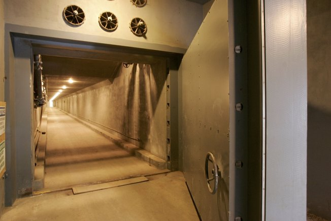 Secret Cold War Bunker Goes Bust