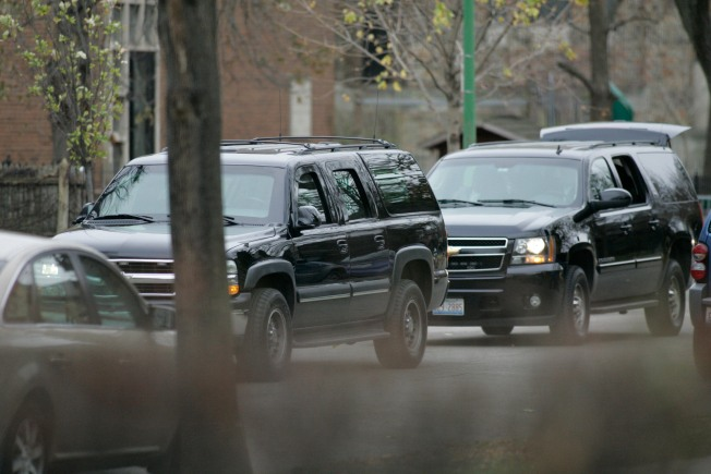 Don't Mess with the Black SUVs