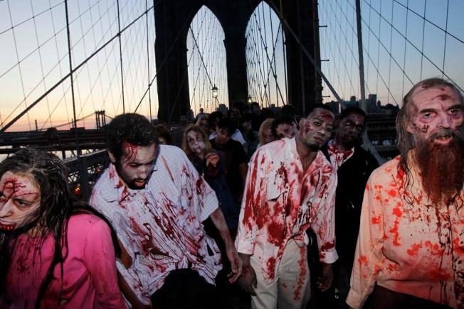 """Walking Dead's"" Zombies Rising for TV Battle"