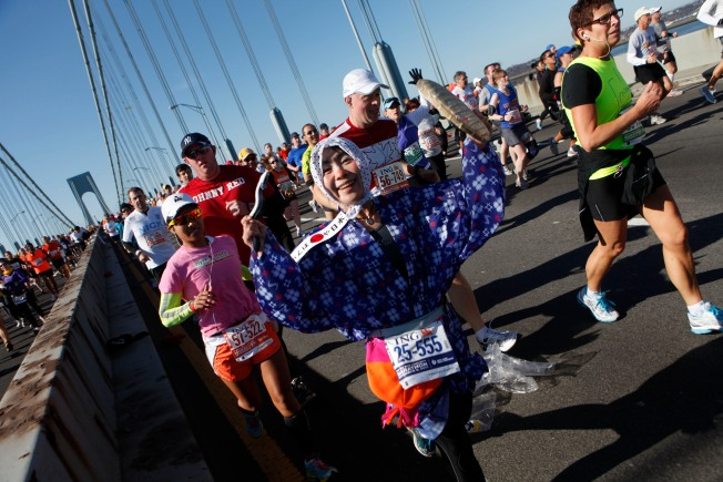 New York City Marathon Returns After Sandy, Boston Bombing