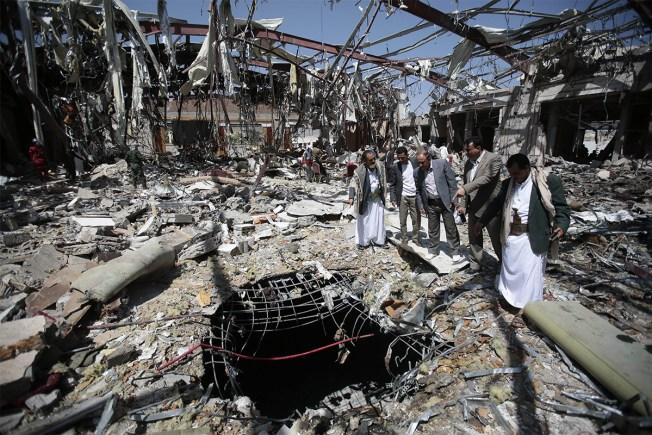Saudi Coalition Blames Funeral Carnage on Bad Information
