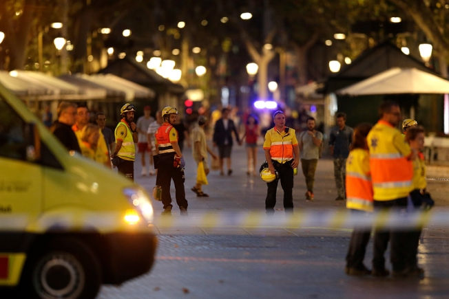 After Barcelona Attack, Authorities Urge Residents 'If You See Something, Say Something'