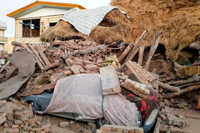 Iran 5.9 Magnitude Earthquake Kills at Least 5, Injures 300