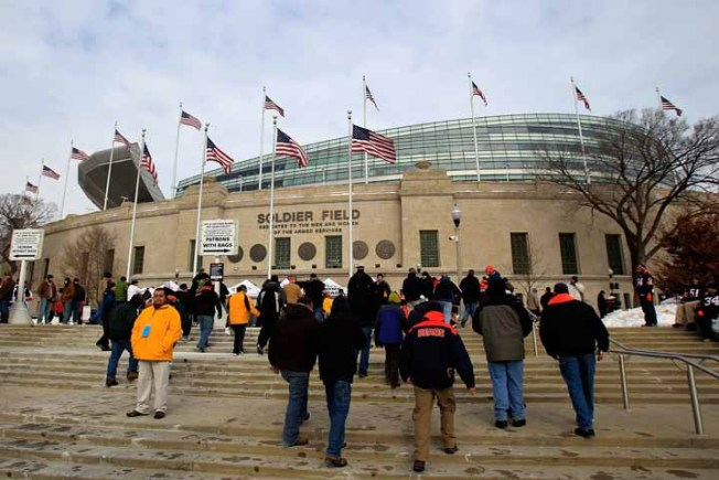 Soldier Field Food Inspections Done During Off-Season
