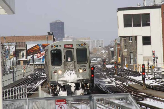 CTA Tests New Rail Cars on Red Line
