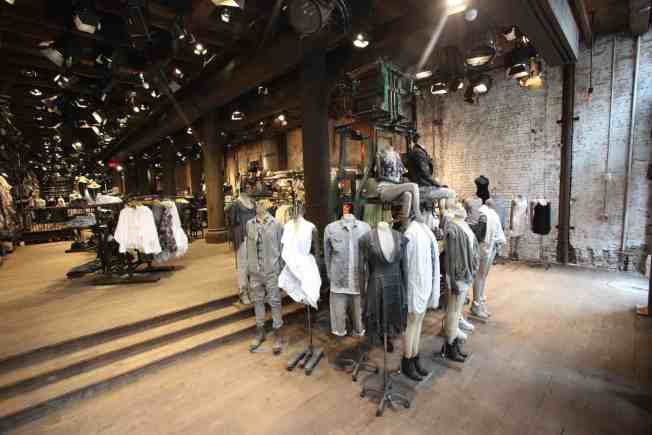 AllSaints Prepares for Chicago Launch