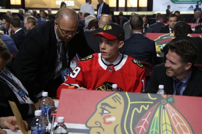 Chicago Blackhawks Take Wilmette-Native Alex Vlasic in NHL Draft