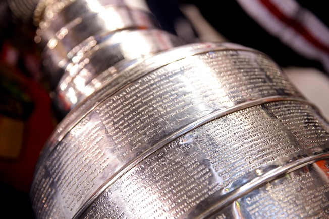 Stanley Cup Makes Public Appearance in Millennium Park