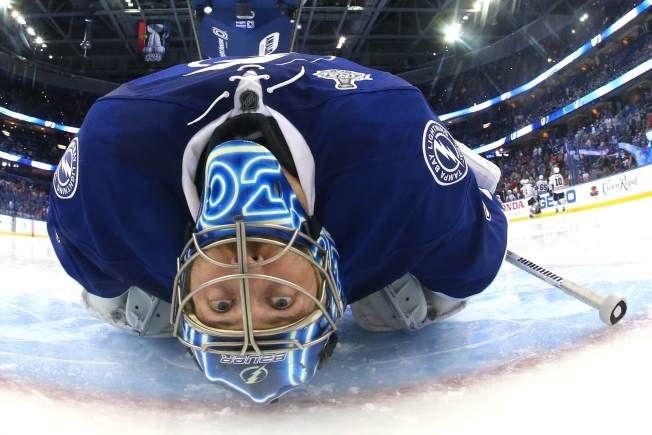 "Ben Bishop Calls Himself ""Marshawn Lynch"" During Press Conference"