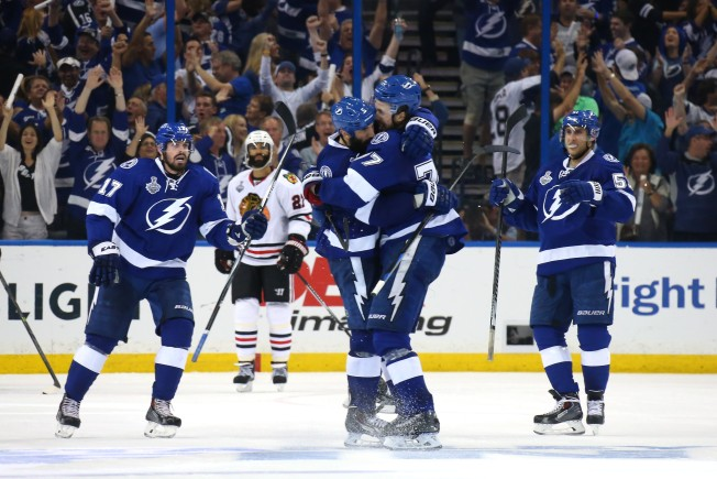 Lightning Beat Blackhawks 4-3, Tie Stanley Cup Final at 1-1