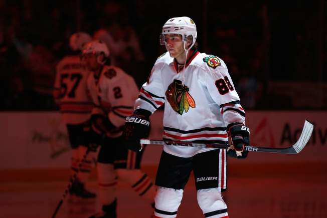 Patrick Kane Named NHL's First Star for November
