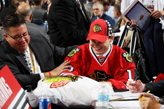 Top Blackhawks Prospect Cut From Team USA Roster