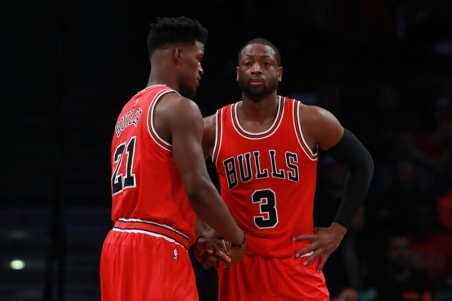 Pregame Chat With Wade Inspires Butler Before Win Against Blazers ... 3b6cb4c34
