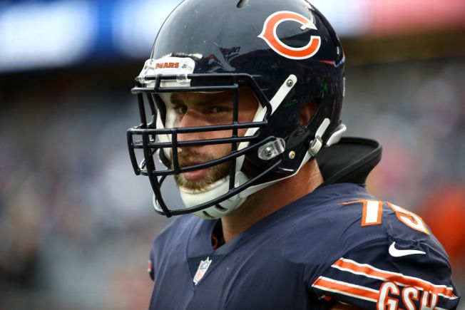 Kyle Long, Aaron Lynch Miss Practice for Chicago Bears