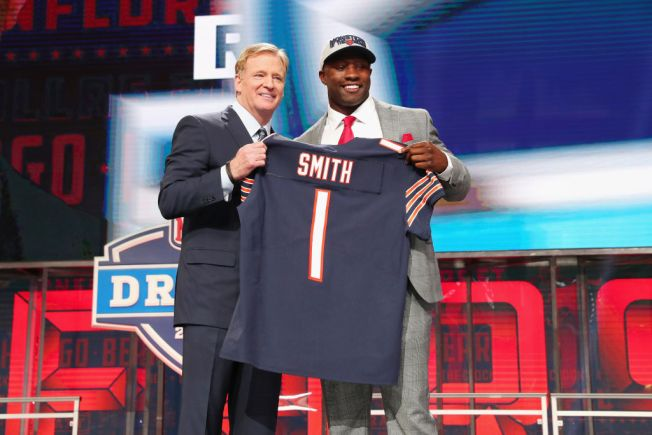 Bears iPad, Jerseys and More Stolen From Roquan Smith's Car: Police