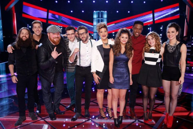 """The Voice"" Gets Its Top 10, With a Twitter Twist"