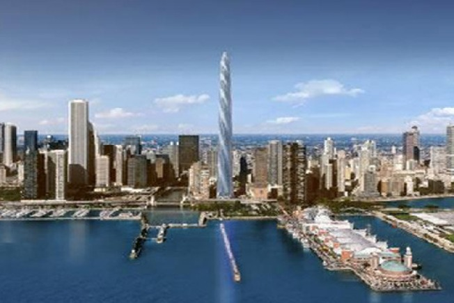 Chicago Spire in Dire Straits