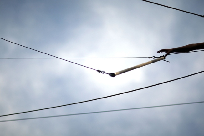 Trapeze Offers High Flying Fitness