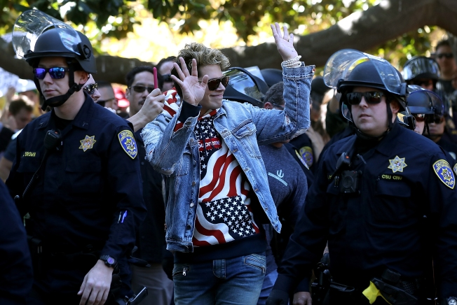 UC Berkeley Spent $4 Million for Security on Free Speech Events