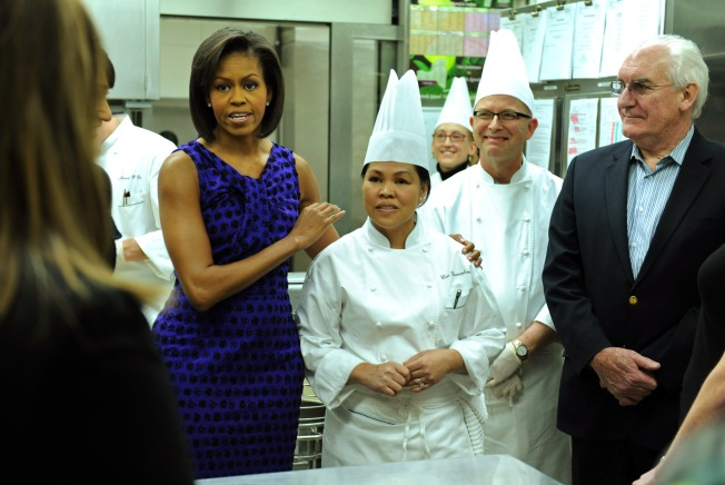 Hiding the Greens From the Obama Daughters