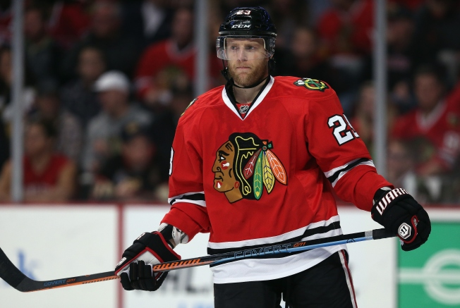 Versteeg Injured in Blackhawks' Loss Thursday