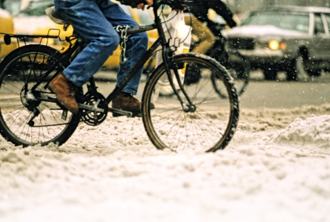 Bike to Work in Honor of Chicago's Coldest Day