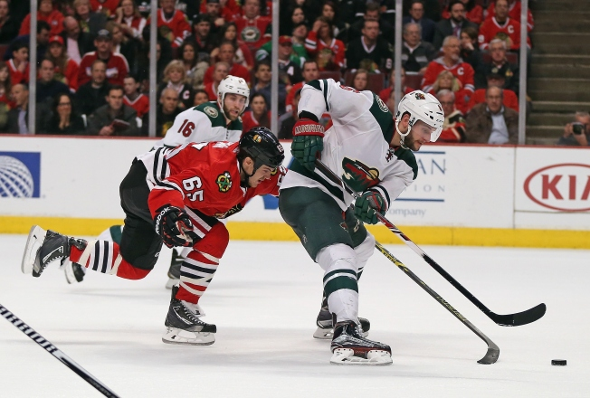 Wild Clinch Playoff Spot As They Beat Blackhawks 2-1