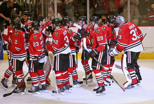 Blackhawks, Blues Clinch Playoff Berths As West Race Tightens