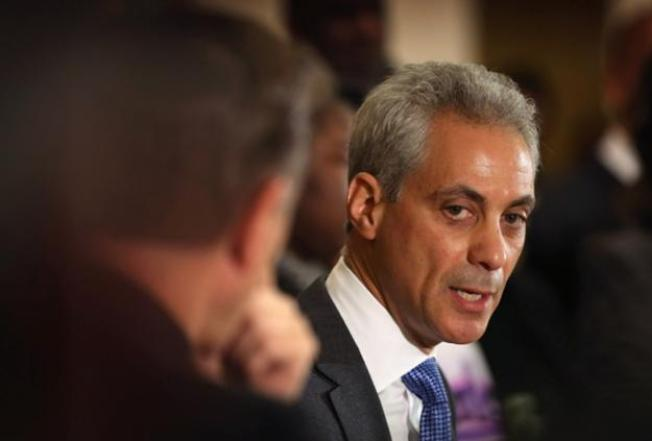 Obama Library: Rahm Tells New York City Mayor to Back Off