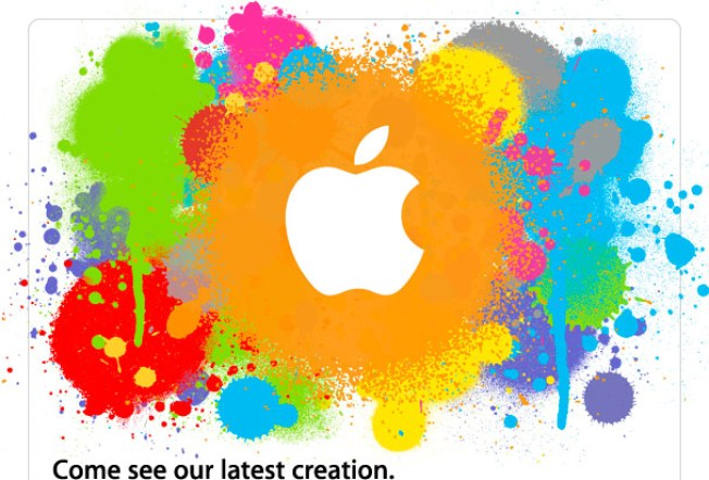 "Apple Invites Press to See ""Latest Creation"""