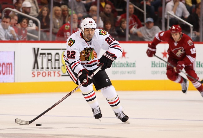 Blackhawks Hire Jamal Mayers to Front Office Position