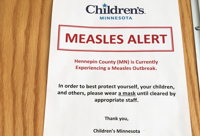 Measles Outbreak in Minnesota Caused by Vaccine Skeptics: Health Officials