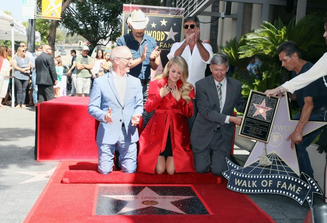 [UPDATED 09/20/18] Stars Honored on Hollywood Walk of Fame in 2018