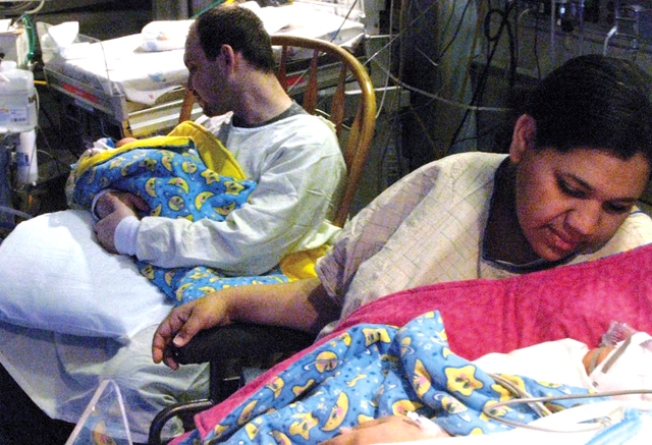 Two-Wombed Woman Gives Birth to Twins