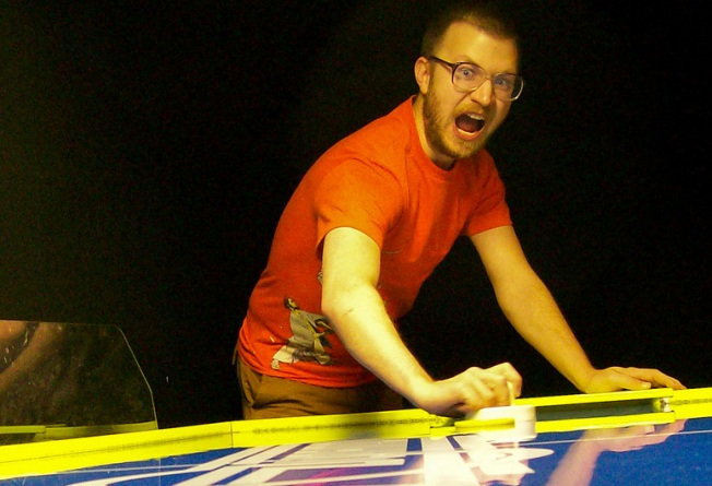 Tonight: Air Hockey Madness