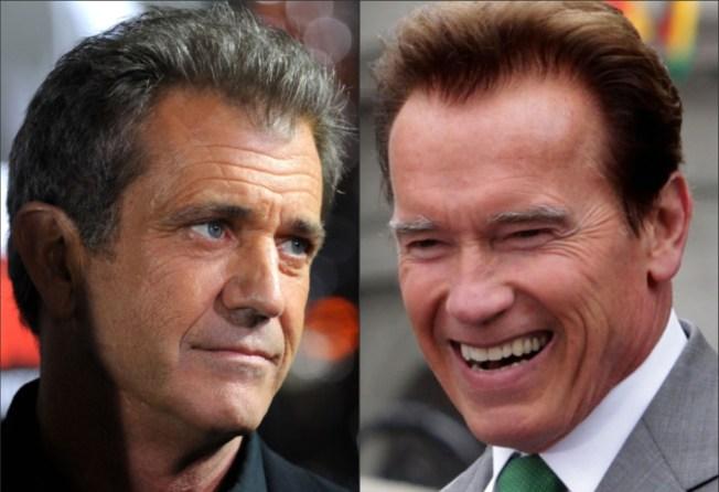 Arnold Pokes Fun at Mad Mel, Limbaugh