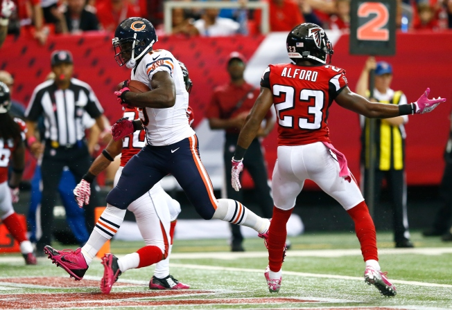 Bears-Falcons Report Card: Offense Makes Strides in Win