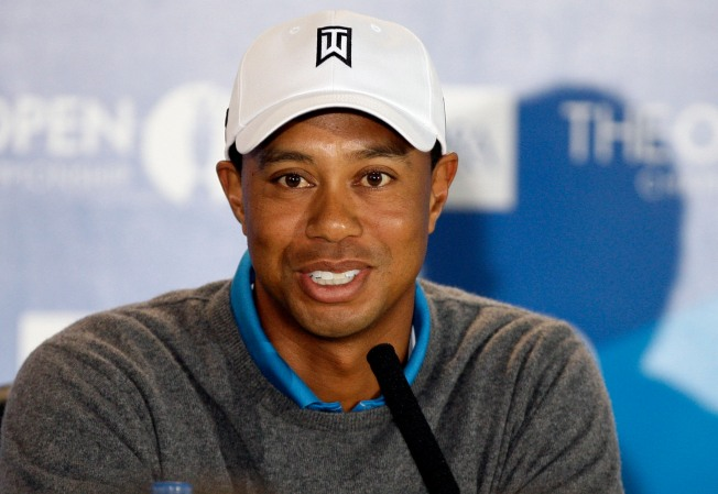 British Media Lay Into Tiger Ahead of Open