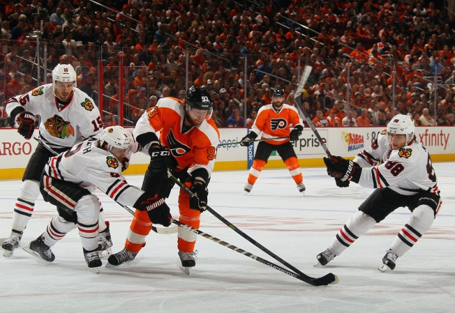 Flyers Fans Chant 'She Said No' at Patrick Kane