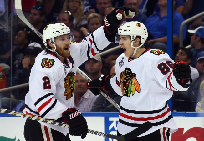 Three Stars: Teravainen's Terrific Third Helps Triumphant Hawks