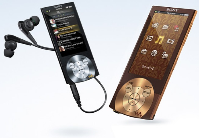Sony Trots Out Glamorous Walkman A840